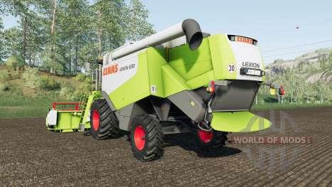 Claas Lexion 530 for Farming Simulator 2017