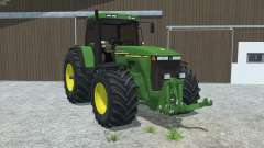 John Deere 8110 left door opens for Farming Simulator 2013