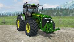 John Deere 8530 MoreRealistic for Farming Simulator 2013