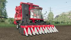 Case IH Module Express 635 reworked for Farming Simulator 2017