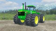 John Deere 8440 moving parts interior for Farming Simulator 2013