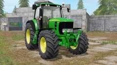 John Deere 7430 Premium animated display for Farming Simulator 2017