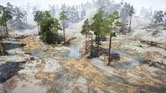 Gravel Coastline for MudRunner