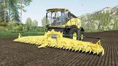New Holland FR780 use spherical trailers for Farming Simulator 2017