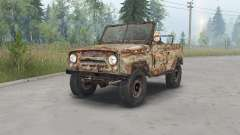 UAZ-469 S. T. A. L. K. E. R. for Spin Tires