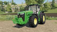John Deere 8R-series 490-795 hp for Farming Simulator 2017