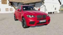 BMW X6 M (E71) 2009 for Farming Simulator 2017