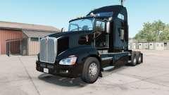 Kenworth T660 2009 rich black for American Truck Simulator