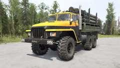 Ural-375Д Major v1.2 for MudRunner