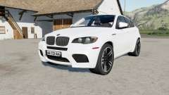 BMW X6 M (E71) 2009 anti flash white for Farming Simulator 2017