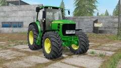 John Deere 7430 Premium with power selection for Farming Simulator 2017