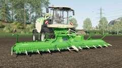 Krone BiG X 1180 can attach dollys for Farming Simulator 2017