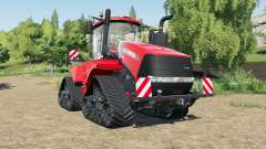 Case IH Steiger Quadtrac improved performance for Farming Simulator 2017