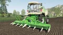 Krone BiG X 580 vivid malachite for Farming Simulator 2017
