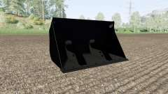 Bucket with a large volume for Farming Simulator 2017