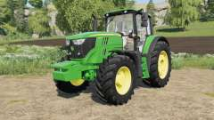 John Deere 6M-series with SeatCam for Farming Simulator 2017