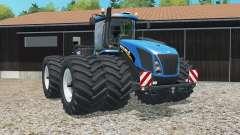 New Holland T9.565 tires slightly narrowed for Farming Simulator 2015