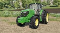 John Deere 6M-series Mitas&Michelin tires for Farming Simulator 2017