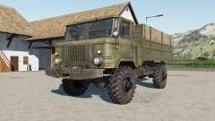 GAZ-66 truck for Farming Simulator 2017