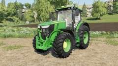 John Deere 7R-series added new front rims for Farming Simulator 2017