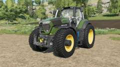 Deutz-Fahr 9-series added tireʂ for Farming Simulator 2017