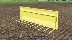 Forks for manure with a large volume for Farming Simulator 2017