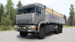 KamAZ-65225 gray color for MudRunner