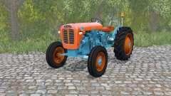Lamborghini 1R burning orange for Farming Simulator 2015