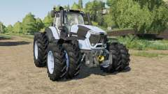 Deutz-Fahr 9-series added narrow duals wheels for Farming Simulator 2017