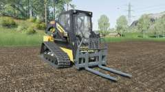 New Holland C232 with attachment weight for Farming Simulator 2017