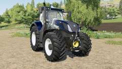 New Holland T7-series Blue Power Chrome for Farming Simulator 2017