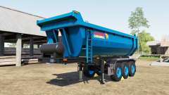 Schmitz Cargobull S.KI rich electric blue for Farming Simulator 2017