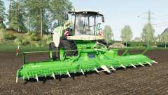 Krone BiG X 1180 wheel color changed for Farming Simulator 2017