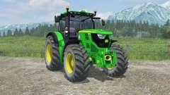 John Deere 6150R interactive control for Farming Simulator 2013