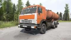KamAZ-53215 Flusher KO-505A for MudRunner