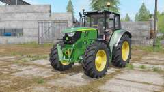 John Deere 6115M interactive contrꝍl for Farming Simulator 2017