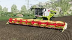 Claas Lexion 780 and Vario 1200 for Farming Simulator 2017