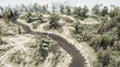 Old forest logging v1.1 for MudRunner