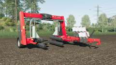 Kuhn SW 4014 increased wrapping speed for Farming Simulator 2017