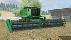 John Deere 9770 & 635D for Farming Simulator 2013
