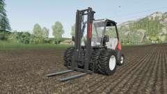 Manitou MC 18-4 dual tires for Farming Simulator 2017