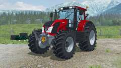 Valtra N163 with additional sets of tires for Farming Simulator 2013
