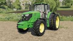 John Deere 6M-series custom for Farming Simulator 2017