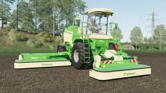Krone BiG M 450 added Michelin and Mitas tires for Farming Simulator 2017