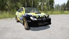 Subaru Impreza WRX STi Spec C N12 Rallycar 2007 for MudRunner