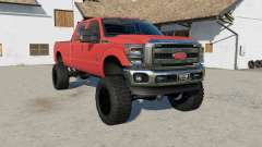 Ford F-350 Super Duty Crew Caƀ 2011 for Farming Simulator 2017