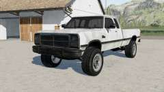 Dodge Power Ram 250 Club Cab 1993 for Farming Simulator 2017