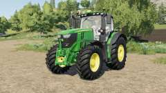 John Deere 6R-series tire selection for Farming Simulator 2017
