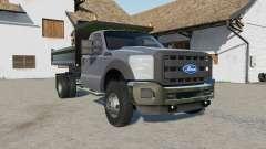 Ford F-550 dump for Farming Simulator 2017