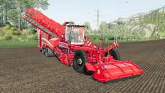 Grimme Varitron 470 working speed 20 km-h for Farming Simulator 2017